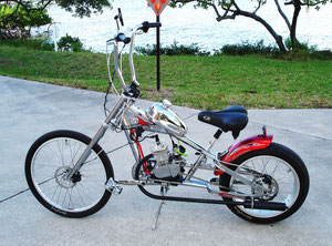 "Orange County ""Chrome"" Chopper Bicycle"
