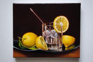Glace aux citrons