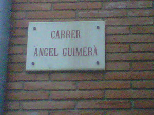 C/ Àngel Guimerà