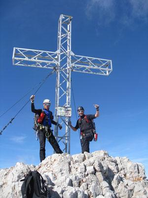 Der Gipfel mit 2995m
