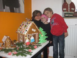 Ein riesen Lebkuchenhaus...ein Geschenk von Kolleginnen