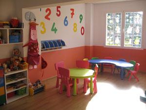 Centro Infantil Virgen de Montserrat. Granada. Detalle de nuestras aulas