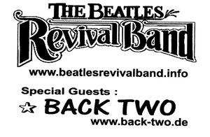Ankündigung gemeinsames Konzert mit der BEATLES REVIVAL BAND
