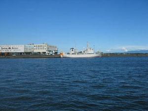 右隅に伊豆半島も見れます。