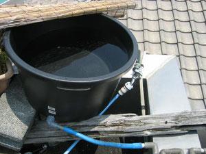 貯水タンク~毎日水をいれます。
