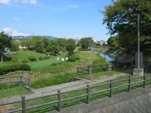 塩田川が巴川に合流しています。
