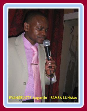 EVANGELISTE AUGUSTIN SAMBA (REPRESENTANT LEGAL DU MINISTERE)