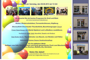 Sommerfest 8.6.2013