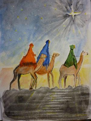 Gedanken an Weihnachten - Nov. 2012  nach Vorlage