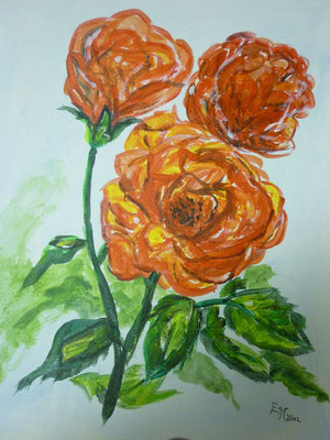 Rosen Acryl Mai 2012