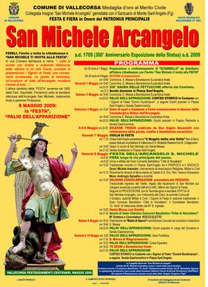 Programma dei Festeggiamenti del Centenario Maggio 2009