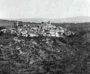 Pontelandolfo, qualche giorno prima della sua devastazione
