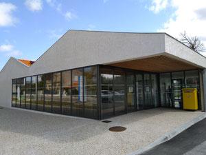 La poste de Grayan et L'Hôpital