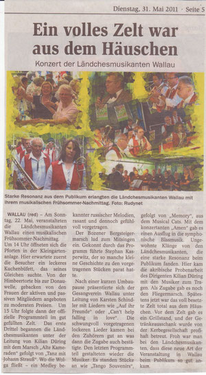 Bericht Hofheimer Zeitung