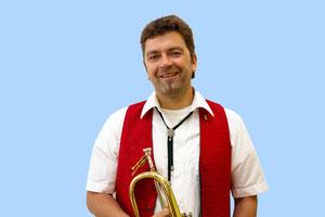 Jürgen spielt Flügelhorn
