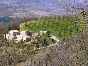 Le hameau de St Hippolyte