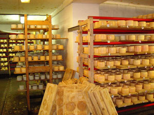 la fromagerie de Nijné Sélitché
