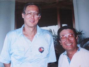 シンガポール・ゴー首相とツーショット