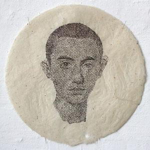 Günter Wintgens Portrait Valentinian III, Sohn von Galla Placidia