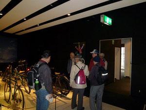 自転車博物館にて