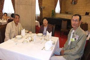 日本綿業会館にて