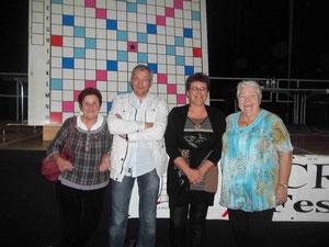 Une partie du Bureau (Arlette, Jean, Sandrine, Odette)
