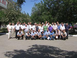 6 Мая 2012 г. 65 лет Астраханскому радиоклубу. Преподаватели ДОСААФ и р/любители