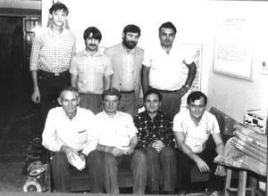 На коллективке в стрелковом клубе 1988 г