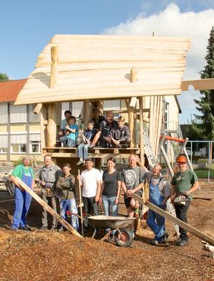 Neues Kletterhaus