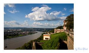 Festung Ehrenbreitstein in Koblenz