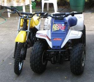 Die Kleinen: Suzuki DS80 & LT80  (Lars)