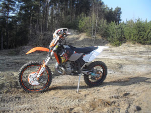 KTM EXC 250 Six Days (Lars)