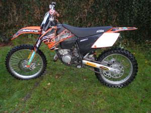 KTM SX 200 (Lars)