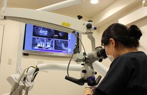 顕微鏡診療 根管治療