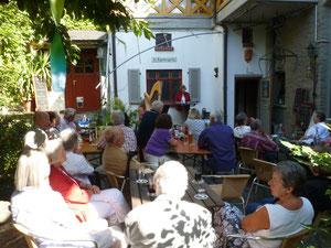 """Vorstellung meines Buches """"Dem Himmel so nah"""" im August 2012 im Leiterhaus in Brechen-Niederbrechen"""