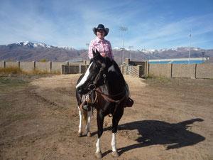 Mocca und ich bei der Trail Challenge 2010 in Heber City, Utah