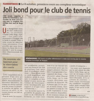 Yonne Républicaine 05/10/2012