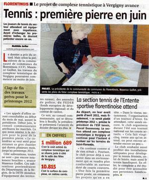 Yonne Républicaine 27 AVRIL 2011