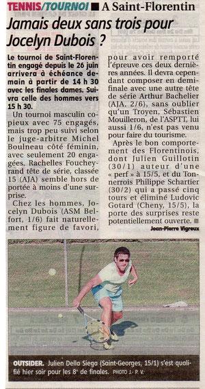 Yonne Républicaine 9 juillet 2011