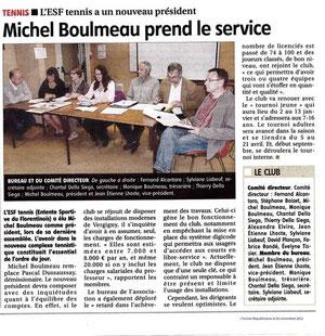 Yonne Républicaine 02/11/2012