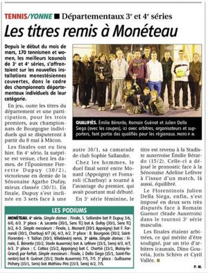 Yonne Républicaine 18 mars 2013