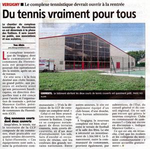 Yonne Républicaine 13/07/2012