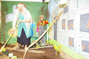 Mme TRAVIOL Festival  Ramdam 2011(alias Messa Saltzmann)et les légumes qui parlent