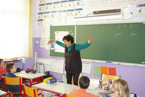un conte en classe 2012