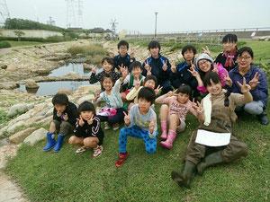 あらい浜風公園 この浦舟池 近隣学童と一緒に活動しています!