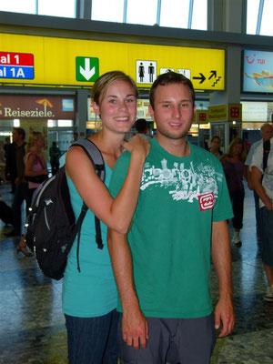 In Wien am Flughafen
