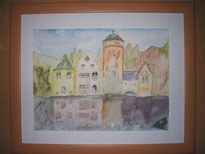 Burg am Wasser