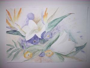 Lilien mit Strilizien