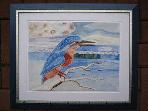 Eisvogel - Reproduktion von J.Wyss