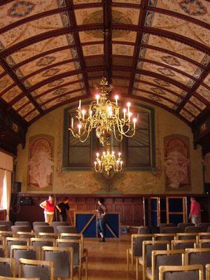 """Wir spielen """"Elefanten zum Frühstück"""" im Historischen Rathaussaal der Stadt Leer"""